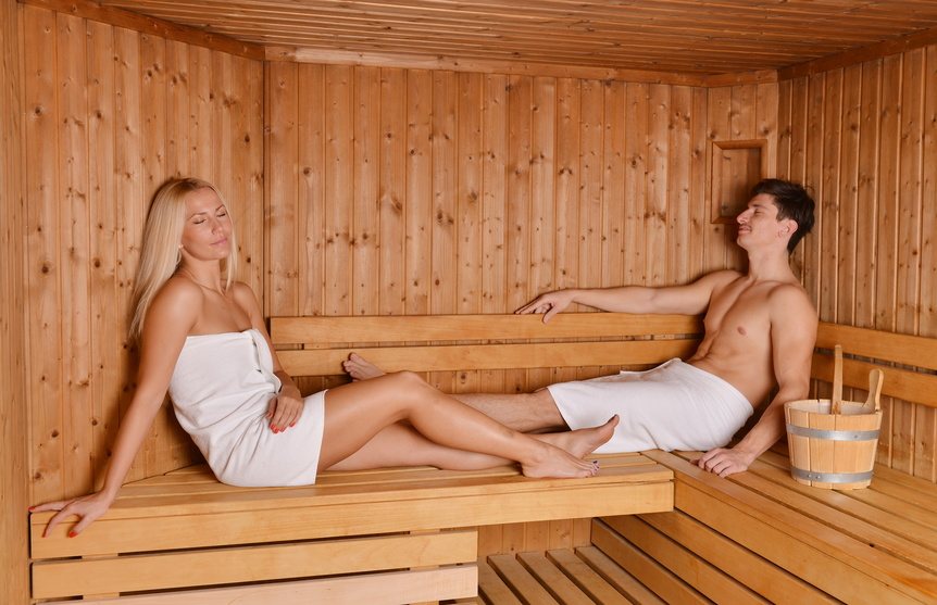 Sauna (optional)